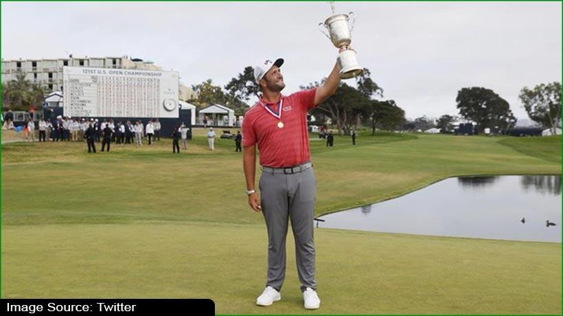 गोल्फ खिलाड़ी जॉन रहम ने यूएस ओपन के साथ जीता पहला बड़ा खिताब