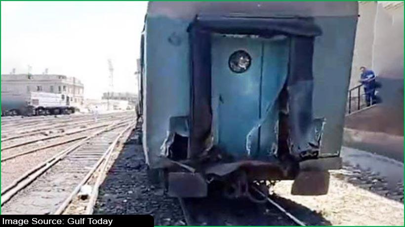 मिस्र में ट्रैक्टर से टकराई ट्रेन, 37 लोग घायल