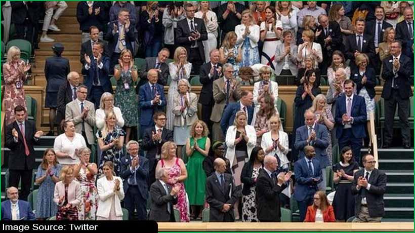 विंबलडन के दौरान इस महिला के लिए सभी ने बजाईं खड़े होकर तालियां