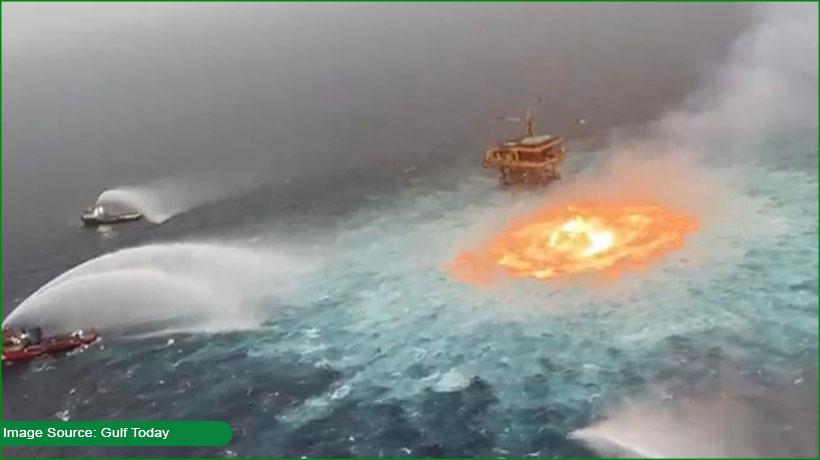 gas-pipeline-rupture-causes-fire-on-the-water-surface-of-gulf