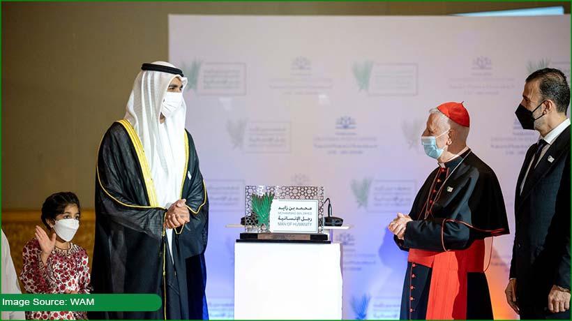 crown-prince-of-abu-dhabi-honoured-with-'man-of-humanity'-award