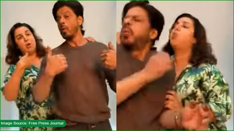 watch-srk-recreate-title-track-of-his-film-'main-hoon-na'-with-farah-khan