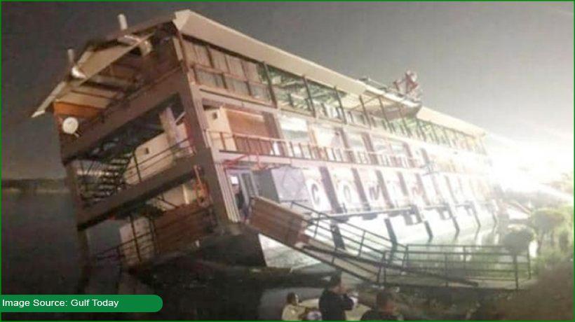 Several injured after tourist boat sinks in river Nile