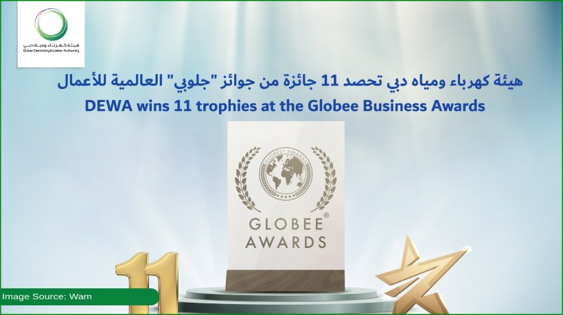 dewa-awarded-11-trophies-at-globee-business-awards