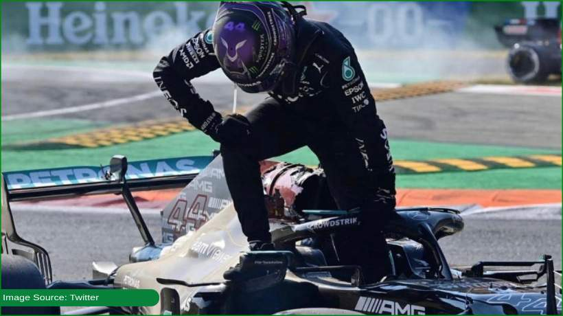 Fortunate to be alive, says Lewis Hamilton after Italian Prix