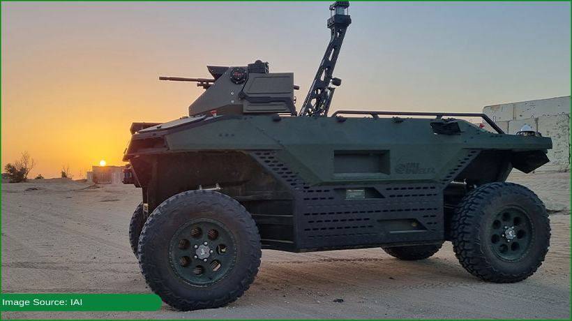 Israel unveils armed robot to protect army soldiers