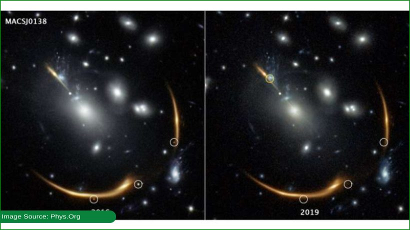 Supernova blast expected to appear in 2037