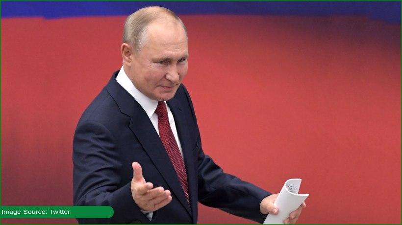 Russia President Vladimir Putin in self-isolation