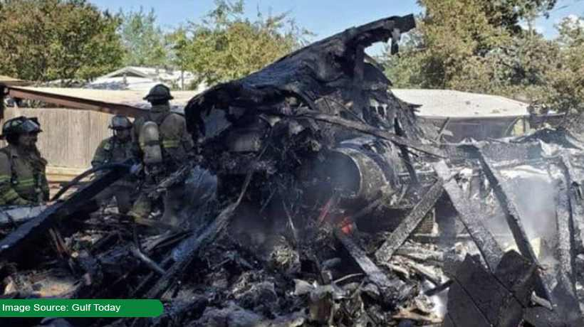 US military plane crashes in Texas
