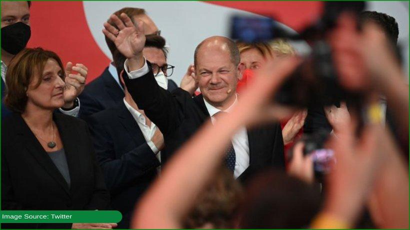 social-democrats-beat-angela-merkel's-party-to-win-germany-elections