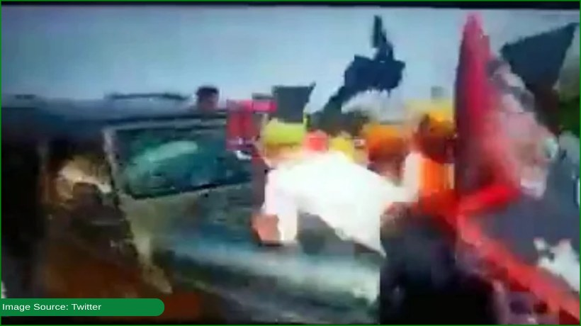 vehicle-runs-over-protestors-in-india-opposition-shares-video