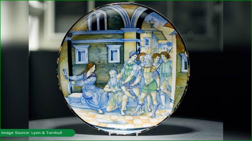 rare-maiolica-dish-attracts-usd1.72-million-bid-in-auction