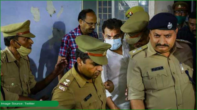 india-minister's-son-arrested-over-lakhimpur-violence