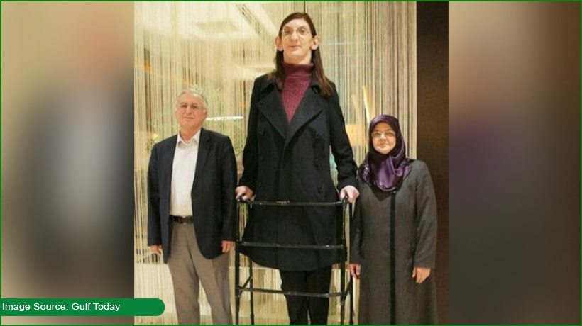 Meet the world's tallest woman who is more than 7 feet tall
